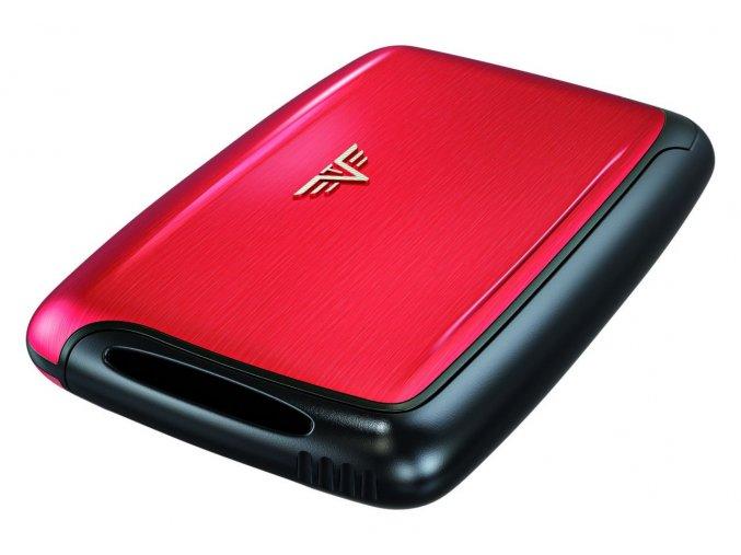 Tru Virtu hliníkové pouzdro card case pearl - Red Pepper