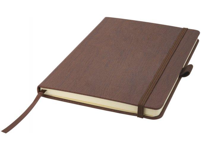 Zápisník Wood A5, hnědá