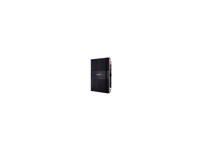 zapisnik castelli medium cordoba leather black detail nahled 21650