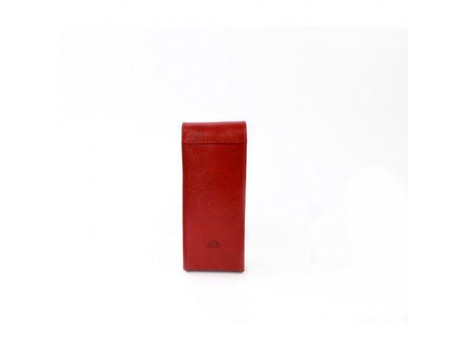 Kožené pouzdro na tužky Tony perotti 3458 - vínová