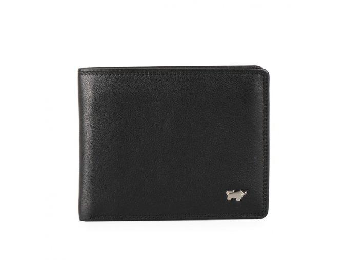 Braun Büffel Pánská kožená peněženka Golf 90336-051 černá