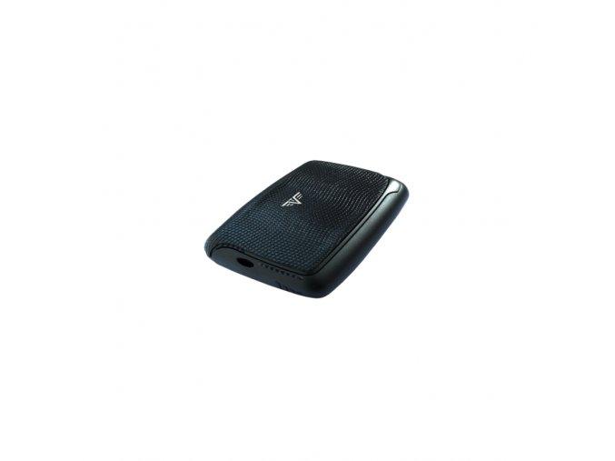 Tru Virtu hliníkové pouzdro Card Case Leather - černá hadí kůže