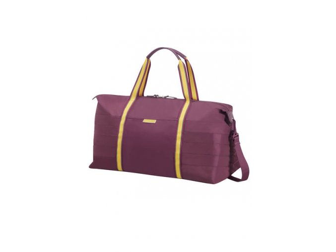 American Tourister UPTOWN VIBES Weekend Bag, purple/yellow