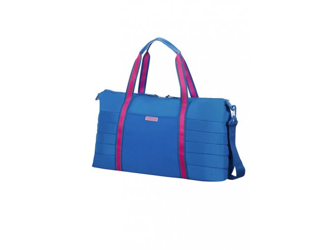 American Tourister UPTOWN VIBES Weekend Bag, blue/pink