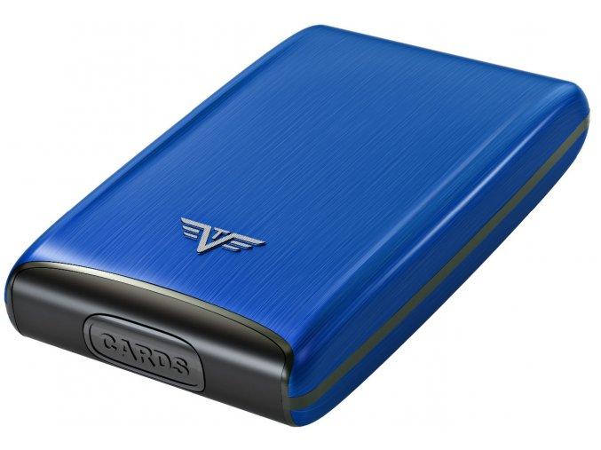 Tru Virtu hliníkové pouzdro Credit Card Case - modrá