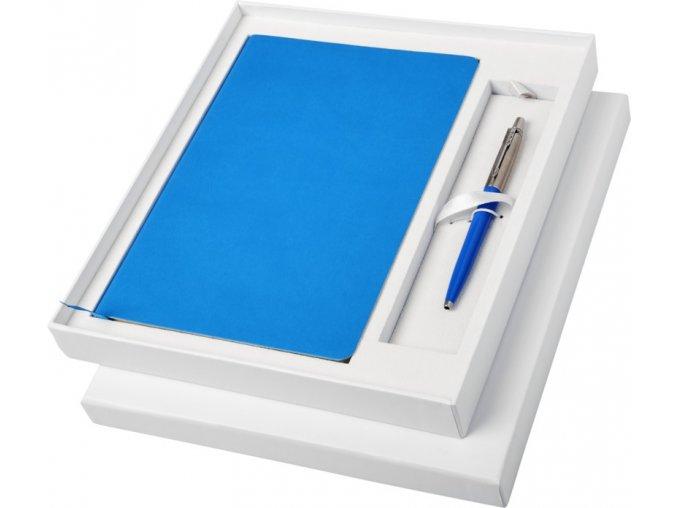 DÁRKOVÁ SADA PARKER Jotter s modrým zápisníkem a místem pro pero 10742400