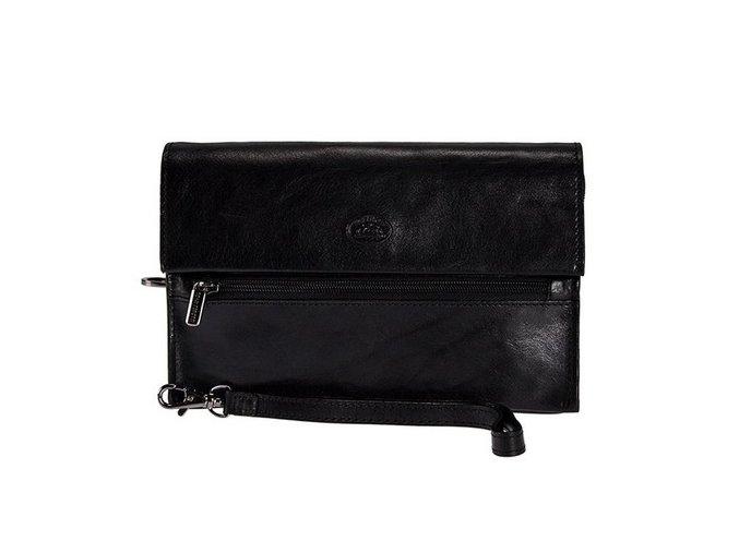 Pánská kožená etue Tony Perotti 9409G, černá