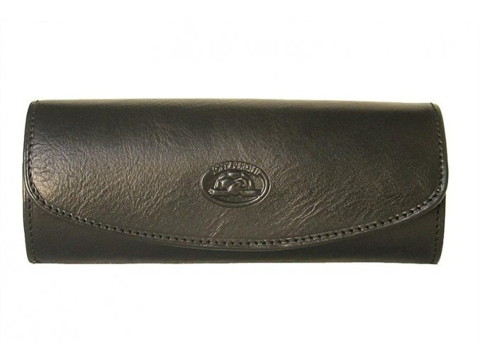 Kožené pouzdro na brýle Tony Perotti 1290, černé