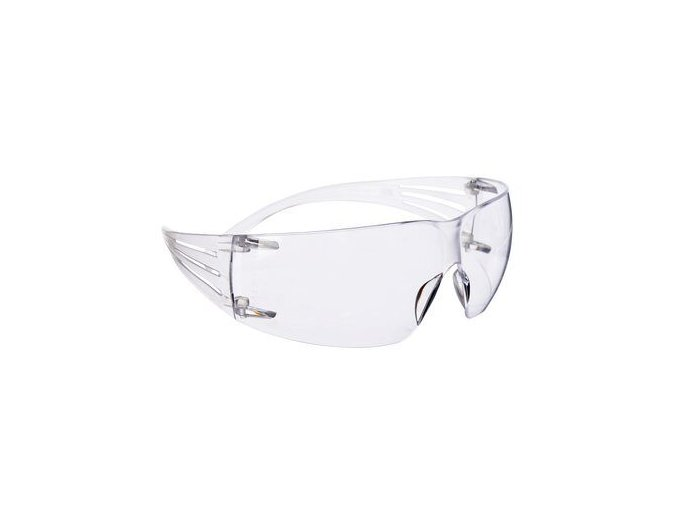 3m securefit safety spectacles as clear sf201as crop