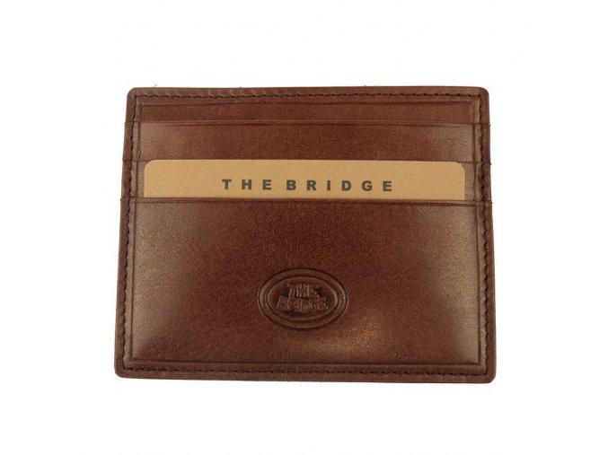 23885 panske pouzdro na karty the bridge hneda 2