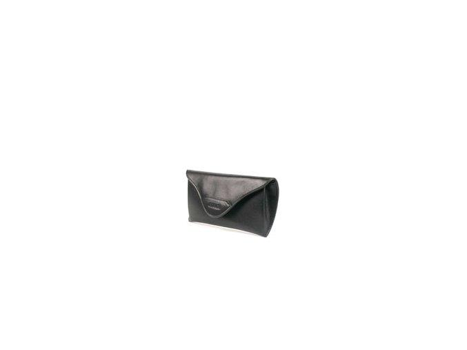 Kožené pouzdro na brýle Giudi 3169V - černé