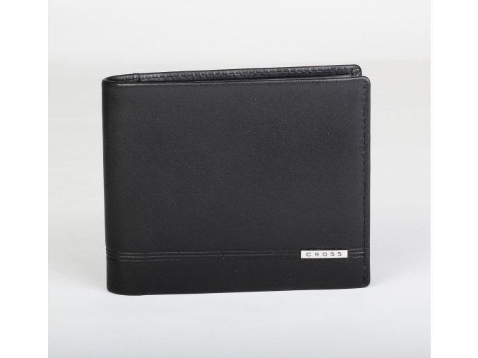 Kožená peněženka Cross Classic Century Leather Bifold Coin Black