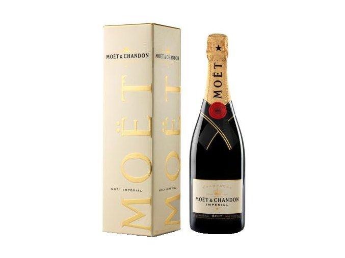 Moët & Chandon Brut Impérial 0,75 l v dárkovém balení