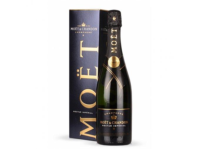 Moët & Chandon Nectar Impérial Demi-Sec 0,75 l v dárkovém balení