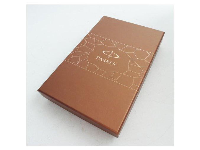 Parker Dárková krabička na 2 pera hnědá