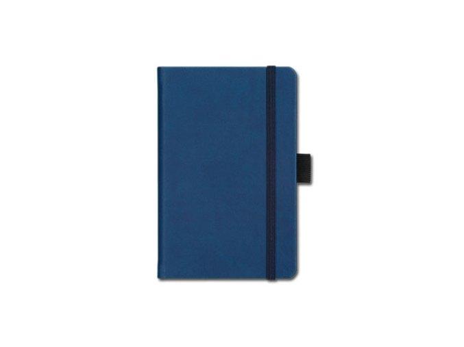 Poznámkový zápisník A5 Ivory, modrý