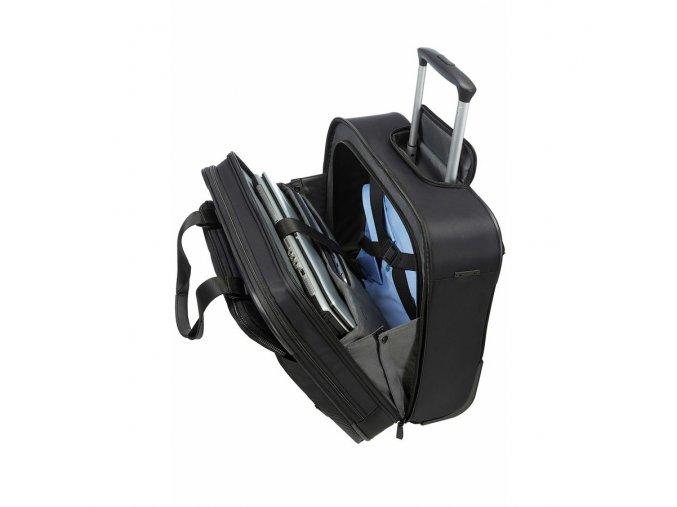 """SAMSONITE CityVibe - mobilní kancelář 16,4"""" Spark Cabin Black (42V 09008)"""