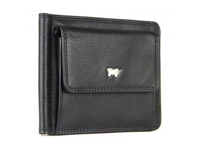 Braun Büffel Pánská kožená peněženka - dolarovka Braun Büffel černá