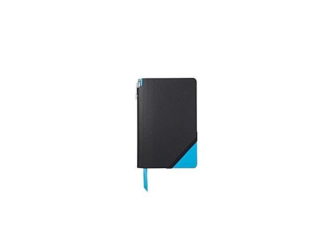 Cross čistý zápisník Jot Zone Medium Black/Bright Blue + kuličkové pero