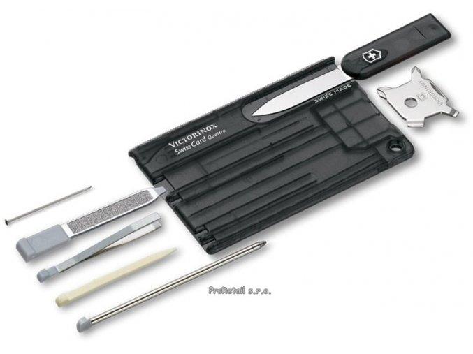 Victorinox SwissCard Quattro černá