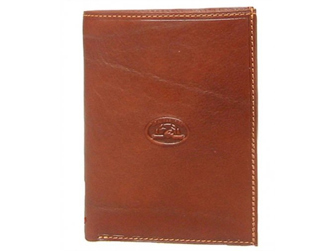 Tony Perotti Pánská kožená peněženka dokladová Tony Perotti 1153-sv.hnědá