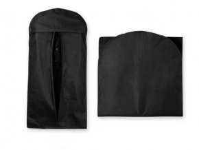 NITIS vak na šaty z netkané textilie, 80 g/m2, černá
