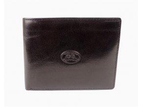 Luxusní černá pánská kožená peněženka Tony Perotti
