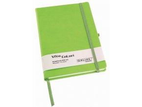 Zápisník Online Viva Colori A6 zelený