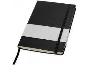 Zápisník (formátu A5), černá sytá