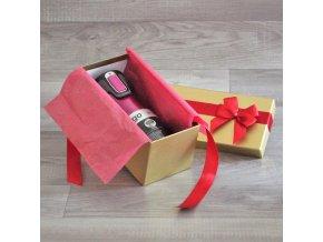 Prémiová termoláhev Contigo Raspberry v dárkovém balení