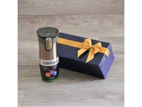 Prémiová termoláhev Contigo Glossy Latte v dárkovém balení