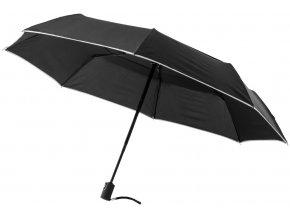 Scottsdale 2sekční plně automatický deštník, černá sytá