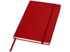 Kancelářský zápisník Classic A5, červený