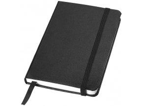 Kapesní zápisník Classic, černá sytá
