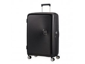 American Tourister kabinový kufr Soundbox spinner 55 exp, Bass Black