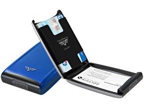 Tru Virtu Razor Classic Credit Card Case Blue Ocean