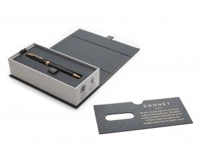 Parker 1502/5231519 Royal Sonnet Matte Black GT kuličkové pero