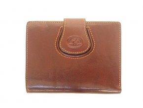 Dámská kožená peněženka Tony Perotti, hnědá