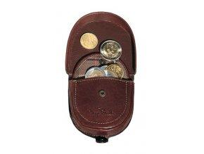 Pánská podkovička na mince Tony Perotti, tm. hnědá