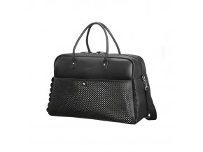WEEKENDER AT BY SAMSONITE 65G19005 LUNA POP 43L LUGGAGE ONLY BLACK SILVER bbfb3b2dc6634f7cac56abd4841f9fb1