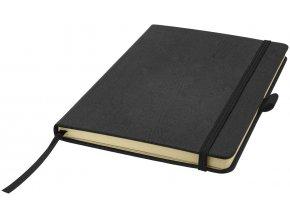 Zápisník Wood A5, černá