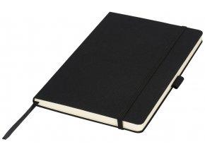 Midi zápisník (formátu A5), černá sytá