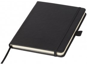 Vázaný zápisník (velikost A5), černá sytá