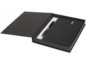 Tactical dárková sada zápisník, černá sytá