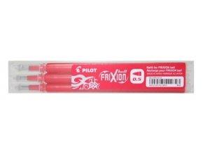 Náplň do přepisovacího rolleru FriXion 0,5 červená 3 ks - 2065-002