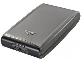 Tru Virtu hliníkové pouzdro Credit Card Case - taupe