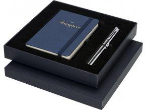 Waterman Dárková kazeta obsahující zápisník velikosti A6 a GRADUATE ALLURE BLUE KULIČKOVÁ TUŽKA