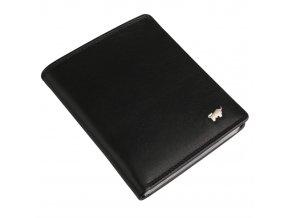 Kožené pouzdro na doklady Golf 2.0 90448-051 černá