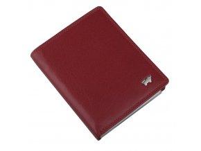 Kožené pouzdro na doklady Golf 2.0 90448-051 tmavě červená