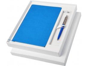 DÁRKOVÁ SADA PARKER Jotter s modrým zápisníkem a kuličkovou tužkou 10742400.1